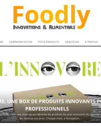 Foodly site web 20 octobre L'INNOVORE®